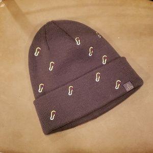 Olive Green Carabiner Prana Hat